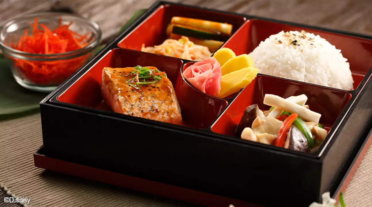 salmon lunch box